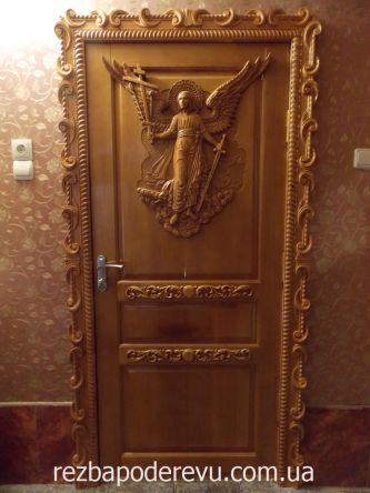 it carved doors recently interested in the opinions of people who are engaged in woodcarving what would you have added to this product? & Carved door with the image of an angel - Woodworking Talk ...